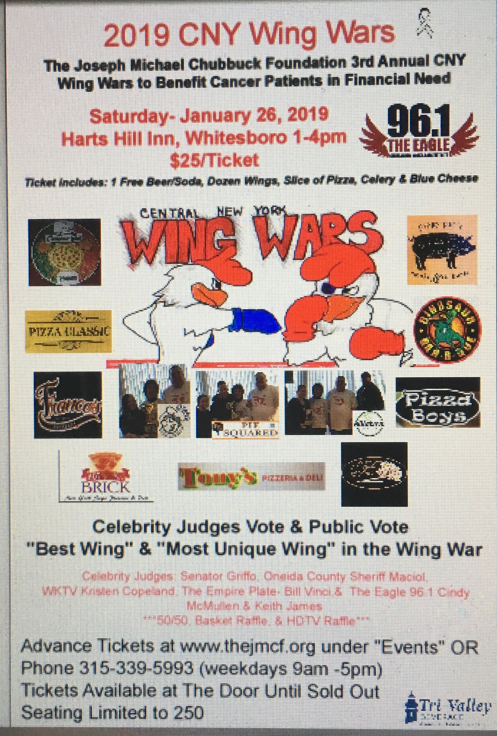 CNY Wing Wars -Fundraisers